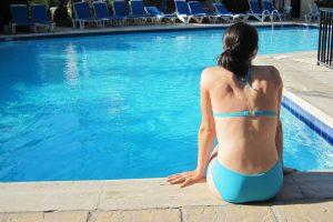Hotel pool dressing code
